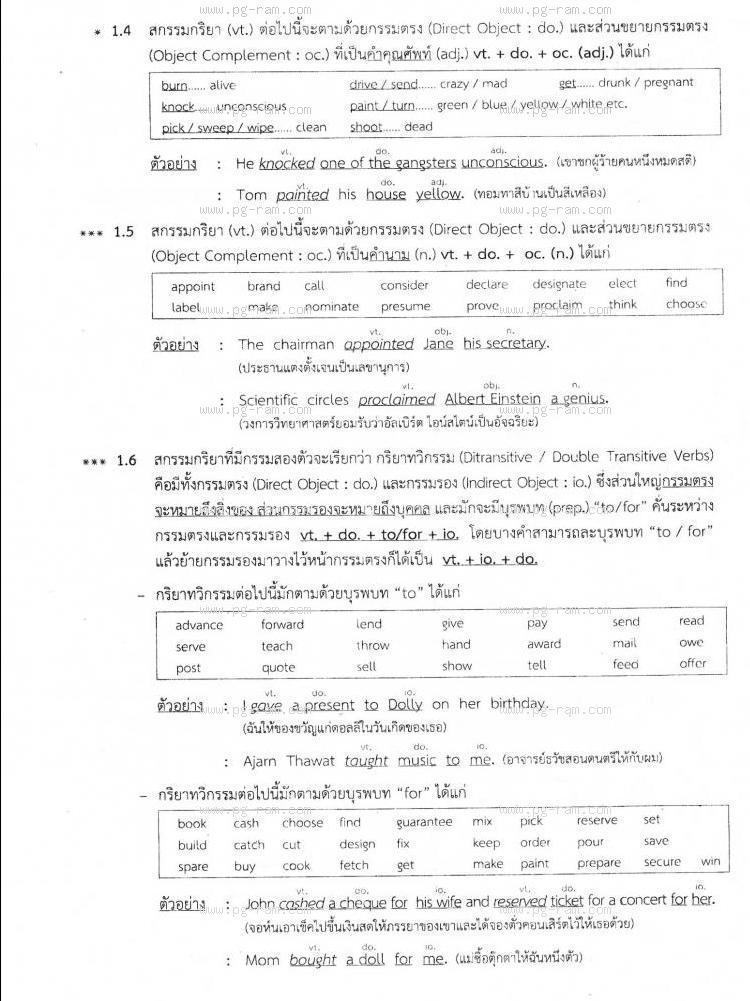 ENG1001 ประโยคภาษาอังกฤษพื้นฐานและศัพท์จำเป็นในชีวิตประจำวัน หน้าที่ 36