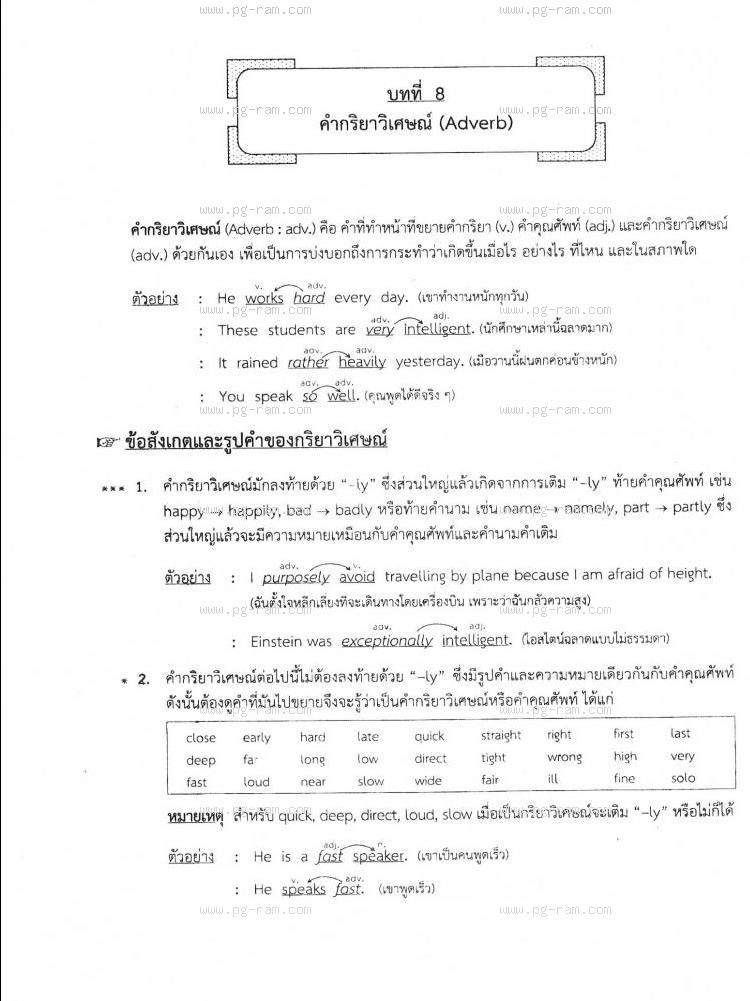 ENG1001 ประโยคภาษาอังกฤษพื้นฐานและศัพท์จำเป็นในชีวิตประจำวัน หน้าที่ 54