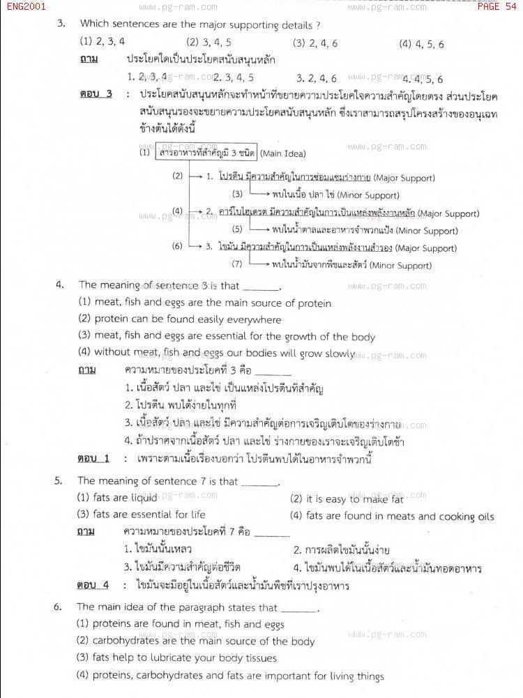 ENG2001 การอ่านเอาความภาษาอังกฤษ หน้าที่ 54