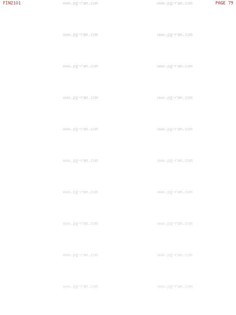 FIN2101 การเงินธุรกิจ หน้าที่ 79