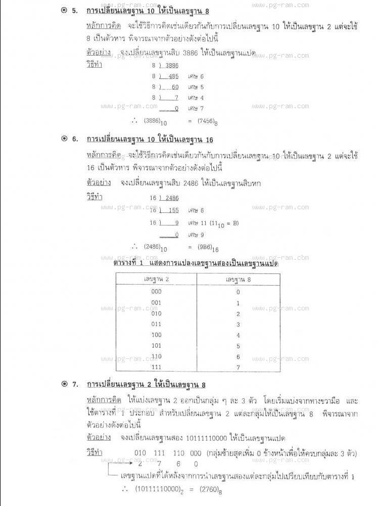 INT1005 ระบบคอมพิวเตอร์เบื้องต้น หน้าที่ 24